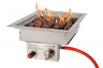 Easyfires Inbouwbrander 30×30 Cm