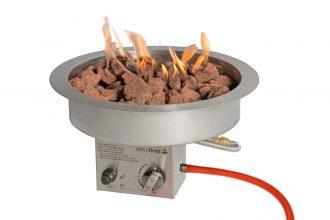 Easyfires Inbouwbrander Rond 40 Cm