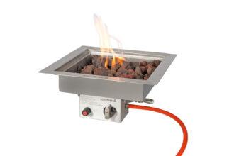 Easyfires Inbouwbrander Vierkant 40×40 Cm