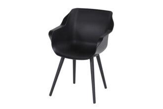 Hartman Sophie Studio Carbon Black Tuinstoel